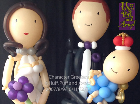 Huff puff balloons for Balloon decoration courses in london