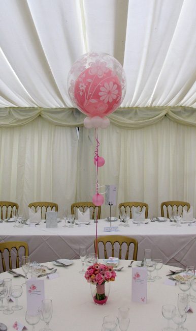 Huff Puff Balloons » Table Centrepieces