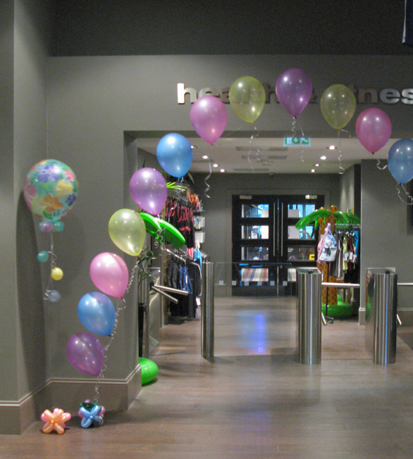 Huff Puff Balloons » Village Hotel, Solihull
