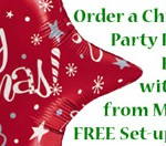Huff Puff Balloons Christmas Decor Package offer
