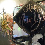New Year foil balloon