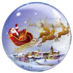 Christmas Bubble balloon