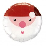 Father Christmas foil balloon
