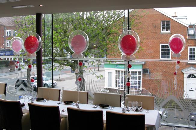 Huff Puff Balloons Panache Sutton Coldfield