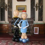Prince Philip and Queen Elizabeth II, Character Greeters by Huff, Puff and Away!