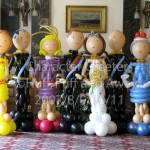 The Royal Wedding party, Character Greeters by Huff, Puff and Away!