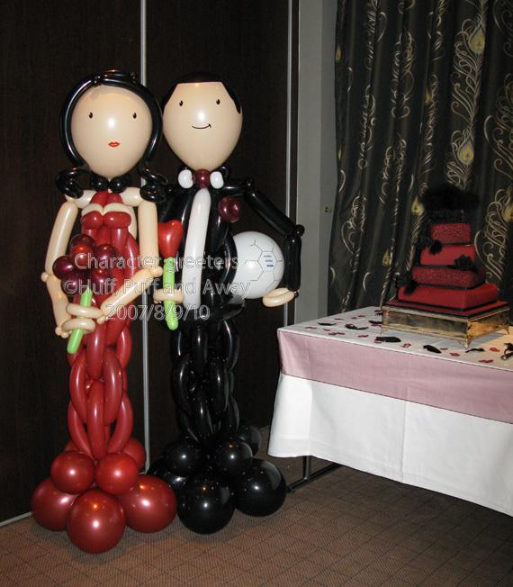 Huff Puff Balloons » Balloon Brides & Grooms
