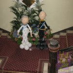 Council House Jubilee Celebrations: Balloon Queen Elizabeth and Prince Philip, by Huff, Puff and Away!