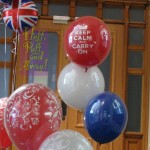 Jubilee Celebrations: decor by Huff, Puff and Away!