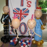 Anarchy and patriotism at a birthday party. Decor by Huff, Puff and Away!