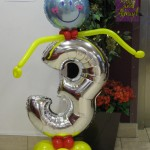 Ronald McDonald House 3rd Birthday Celebrations, Animated 'Three' by Huff, Puff and Away!