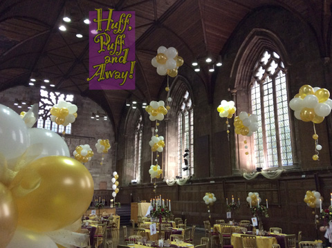 King's Hall. Decor by Huff, Puff and Away!